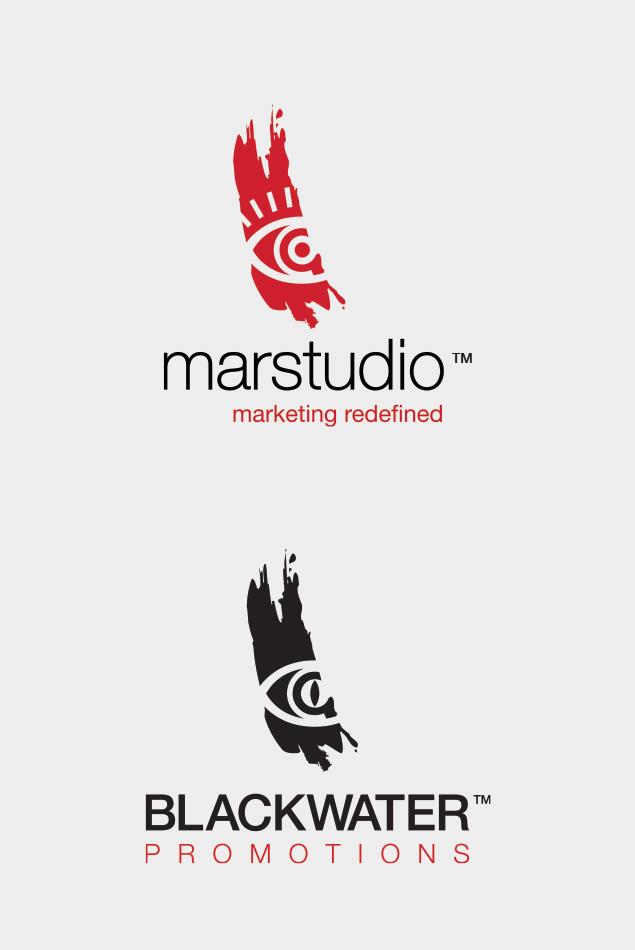 Marstudio Logo - Blackwater Promotions Logo